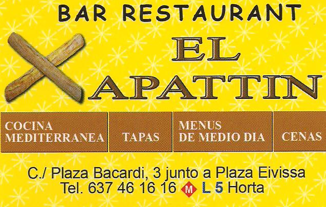El Xapattin - Bar Restaurant
