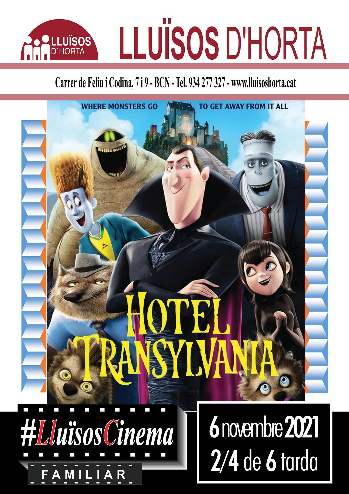 Cinema Familiar - Hotel Transylvania