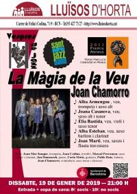Vespres de Jazz - Joan Chamorro, la Màgia de la Veu
