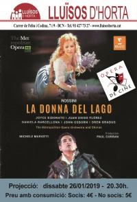 Òpera de Cine - La Donna del Lago