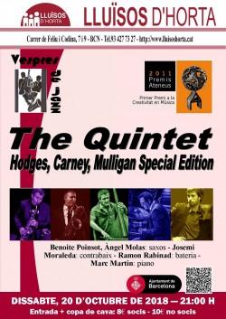 Vespres de Jazz - The Quintet: Hodges, Carney, Mulligan Special Edition