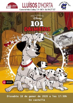 Cinema Familiar - 101 Dálmatas
