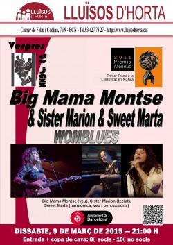 Vespres de Jazz - Big Mama Montse & Sister Marion & Sweet Marta