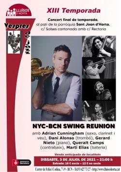 Vespres de Jazz - NYC - BCN Swing Reunion