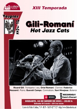 Vespres de Jazz - Gili - Romaní Hot Jazz Cats