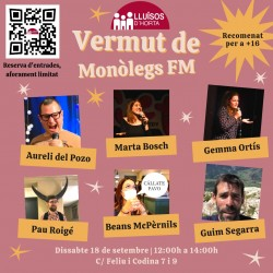 Festa Major d'Horta 2021 - Vermut de Monòlegs FM