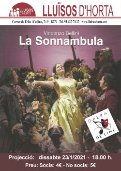 Òpera de Cine - La Sonnambula