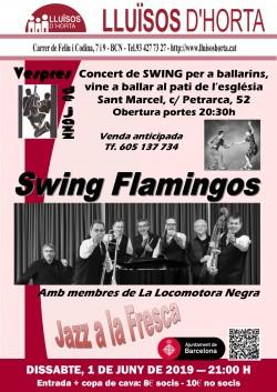 Vespres de Jazz - Swing Flamingos